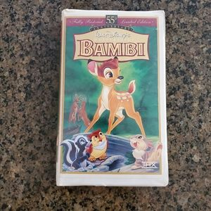 DISNEY BAMBI MASTERPIECE COLLECTION